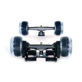 Flipsky Group DIY Electric Skateboard Double Main Shaft Trucks and Motor Kits Dual Drive