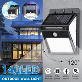Bewegingssensor LED Solar Light Human Body Induction Waterproof Outdoor Garden Street Wandlamp