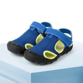 XUN Kids Sandals Toe Protection Soft Breathable Non-Slip Quick Dry Outdoor Activities Sports Sandals Slippers From