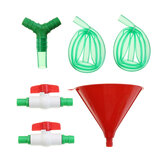 3.28Ft Beer Drinking Bong Single Funnel Plastic Valve Double 2 Tube Adult Hen/Stag Party Game