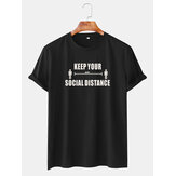 Mens Funny Cartoon Mourning Character Short Sleeve T-shirts