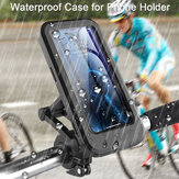 Bakeey Universal Multifunction 360° Free Rotation Magnetic Retractable Adjustment Motorcycle Phone Holder Stand Bike Holder Waterproof Mobile Phone Bracket