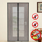 2pcs DIY Anti-Mosquito Pest Window Curtain Net Mesh Protetor de cortina transparente para porta