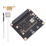 RAK2245 Pi HAT LoRaWAN Yoğunlaştırıcı Ağ Geçidi Entegre SX1301 GPS RAK831 Yükseltme Sürümü Kablosuz Modül