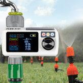 YUGE新しい液晶画面電子自動スプリンクラーコントローラー雨センサー防水灌漑タイマー屋外ガーデン散水装置灌漑ツール