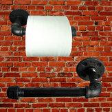 Montaggio conduttura industriale tovagliolo di carta d'epoca muro del bagno cremagliera titolare della carta igienica