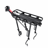 MTB Universal Bike Rear Luggage Carrier Aluminum Alloy Bicycle Luggage Rack Max Load 90kg