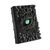Dia das Bruxas Dragão Livro Doméstico Escritório Resina Enfeites de Luxo Animado Dragão Notebook Decoração Arte do Dia das Bruxas Presentes