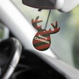 Geweih-Form-Auto-Weihnachtsanhänger-Duftstoff-KarteLufterfrischerhängendePapiereDuft-Dekoration