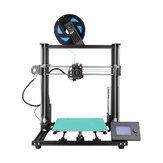 Anet® A8 Plus Nuevo kit de impresora 3D semi-bricolaje 300 * 300 * 350 mm Tamaño de impresión con pantalla móvil magnética / Soporte de doble eje Z Cinturón Ajuste
