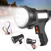 9000 / 9600mAh LED lampe de travail projecteur super lumineux lampe de poche rechargeable Camping randonnée équitation