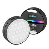 VIJIM R66 2500-9000K RGB LED Video Lights Photography Studio Video Dimmable Fill Light for DSLR Camera Mobile Phone Live Broadcast Selfie