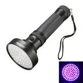 XANESU05100xLEDs395nm Violeta UV Fluorescencia Esterilización Billete LED Linterna