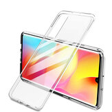 Bakeey for Xiaomi Mi Note 10 Lite Case Crystal Transparent Shockproof Hard PC Non-yellow Protective Case