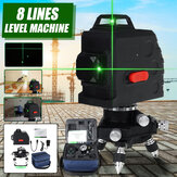 8 Line Green Light Laser Machine Laser Level Horizontal & Vertical