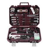 CREST 105128 Kit di servizio completo per uso domestico con cassetta degli attrezzi in plastica