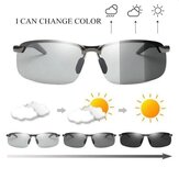 Photochromic Driving Sunglasses with Polarized Lens For Riding Outdoor