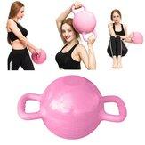 0-12LB Water Kettlebell Regolabile Manubri Doppi Manici Pilates Body Shaping Equipment Allenamento della forza Yoga Idoneità