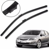 Car Pair Front Windscreedn Wind Shield Wiper Blades para Vauxhall Astra 2010 em diante