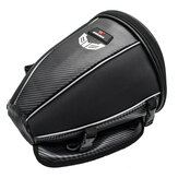 WOSAWE Motorcycle Tank Rear Seat Bag Waterproof Side Bag Multi-function Black