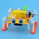 子供の子供のためのDIYウォーキングRCロボット玩具蒸気教育キットギフト