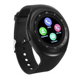 Y1 Smart Bluetooth3.0 Watch Téléphone Bande SIM Card écran tactile Sport Bracelet