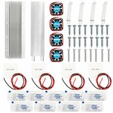 12V Thermoelectric Peltier Semiconductor Refrigeration Water Cooling System Fan Kits