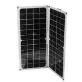2Pcs 10W 14V Silicio monocristallino solare Pannello Suppot Dual USB / Collegamento in parallelo / IP65 Impermeabile