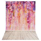 35x23インチ紫の木ロマンチックな写真の背景背景スタジオ小道具