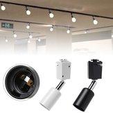 Modern 40 W E27 Parça Işığı Giyim Mağazası Pencere Showroom Sergi için Dönebilen Tutucu AC85-220V
