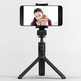 Xiaomi 2 In 1 Selfie Stick Tripod bluetooth 3.0 Wireless RC Monopod Mount Holder for iPhone Huawei OPPO Oneplus Mobile Phone Photography