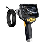 Inskam112-1 Handheld Single-len 1/5/10M Borescope Hard Wire IP67 Waterproof for Car Sewer Air Conditioner Mechanical Maintenance