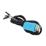 Caturda C0889 PL2303TA USB to TTL RS232 Convert Serial Cable Upgrade Module for Raspberry Pi
