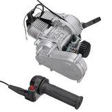 50CC 49CC Motore del motociclo con maniglia dell'acceleratore per MINI DIRT BIKE Pull Start Auto CDI Mini Throttle Inc