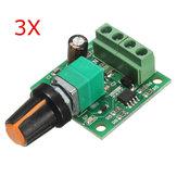 3pcs basso voltaggio regolatore di velocità del motore di CC 1.8v 3v 5v 6v 12V 2A PWM 1803b