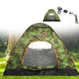IPRee® Tenda de acampamento aberta automática para 1 a 4 pessoas à prova d'água à prova de vento anti-UV para-sol para caminhadas ultraleve