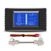 PZEM-015 Battery Tester DC Voltage Current Power Capacity Internal And External Resistance Residual Electricity Meter With 100A Shunt