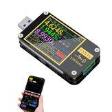 FNB48 bluetooth Sürümü APP Kontrol Pd Tetik Voltmetre Ampermetre Stroom En Voltmetre USB Test Cihazı QC4 + PD3.0 2.0 Pps Snel Opladen Protokolü Kapasiteit Testi