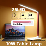 Bakeey Foldable Table Lamp 26pcs LED 10W Touch Switch USB Charging Reading Light Adjustable Head Desk Lamp