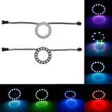 DC5V 16 Bits 5050 RGB WS2812B LED Module Strip Ring Lamp Light with Integrated Drivers Board