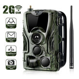 Suntek HC-801M 2G 1080P HD 16MP IP65 Waterdichte Jacht Wildlife Trail Track Camera Ondersteuning GPRS GSM MMS SMTP SMS