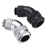G1/4 Thread 45 Degree Water Cool Fittings PC Water Cooling Joints for 10*14mm Rigid Tube