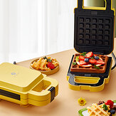 Liven ZCJ-SM132 Multifunctional Sandwich Maker Waffle Machine Double-sided Heating Removable And Washable for Kitchen