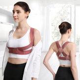 KALOAD correcteur de Posture femmes corps Shaper Corset soutien de la poitrine ceinture épaule orthèse soutien du dos Correction