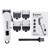 Kemei Professional LCD Electric Rechargeable Hair Trimmer