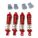 Металлический амортизатор RBR / C с кронштейном для WPL C14 C24 C34 C44 MN D90 D91 MN45 MN96 MN99 MN99S WLtoys A949 A959 A969 A979 K929 RC Авто Детали
