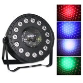 30W RGB Stage Light 15 LED Par Lampe Remote Sound Control für Club DJ Party Disco Hochzeit Weihnachten AC90-240V