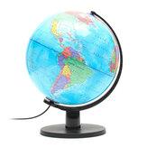 25 cm 110 V Weltkugel Nachtlicht Geographie LED Lampe Kinder Schlafzimmer Dekor Geschenk US Stecker