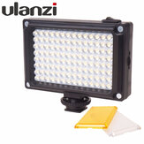 Ulanzi 96LED LED Video Light Photo Studio Luz en la cámara con zapata caliente