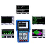 JinHan JDS3082A Hand-held Digital Oscilloscope 2 Channel Max 500MSa/s Sampling Rate 80MHz Bandwidth Oscilloscope With Signal Generator 6000 Counts Digital Multimeter 3 in 1